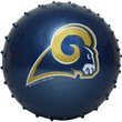 Los Angeles Rams NFL 5 inch Knobby Balls 100 ct