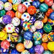 Assorted 27mm Super Bouncy Balls 2000 ct