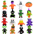 Jumbo Halloween Plush Kit Mix 50 ct