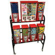 Eagle 7 Way Pro Sticker and Toy Vending Rack