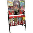 Eagle 7 Unit Toy Bulk Vending Rack
