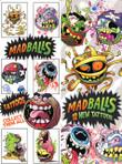 Madballs Vending Tattoos