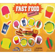 Fast Food Erasers Vending Capsules 1 inch