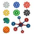 Spin-it Connect-it Twist-it Vending Toys