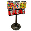 Triple Vending Machine with Stand