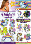 Unicorn Temporary Vending Tattoos