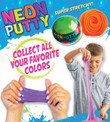 Neon Putty Self Vending Toys