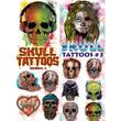 Skull Temporary Vending Tattoos