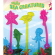 Sticky Sea Creatures Vending Capsules 1 inch