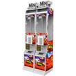 Red Mini Crane Claw Vending Machine