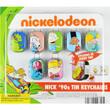 Nick 90s Sticker Tin Keychain Vending Capsules 2 inch