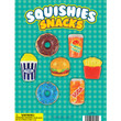 Squishy Snack Toys Vending Capsules 2 inch