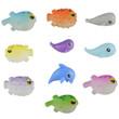 Squishly Sea Creatures Vending Capsules 2 inch
