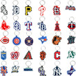 MLB Logo Keychains Vending Capsules 2 inch