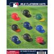 MLB Logo Ballcap Keychains Vending Capsules 2 inch