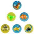 Dino 3-D 45mm High Bounce Balls - 12ct
