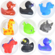 Rubber Duckie Animal Mix Vending Capsules 3 inch
