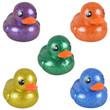 Glitter Rubber Ducks 6-inch Generic 12 pcs