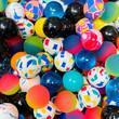 27mm Assorted Bouncy Balls 250 ct