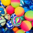 49mm Assorted Bouncy Balls 50 ct