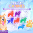 Crystal Canines Vending Capsules 2 inch
