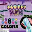 One Fluffy Slime Vending Capsules