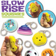 Slow Rise Squishy Keychains Vending Capsules 2.5 inch