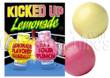 Kicked-Up Lemonade Gumballs