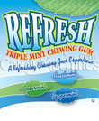 Triple Mint Refresh Gum Tabs