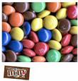 MandMs Plain Milk Chocolate Candy - Case