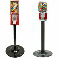 Single Gumball Machines on a Stand