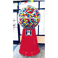 Giant Gumball Machines