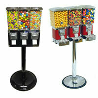 Three Head Gumball Machines