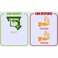 Bill-to-Coin Change Machines
