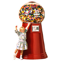 Big Mama Giant Gumball Machines