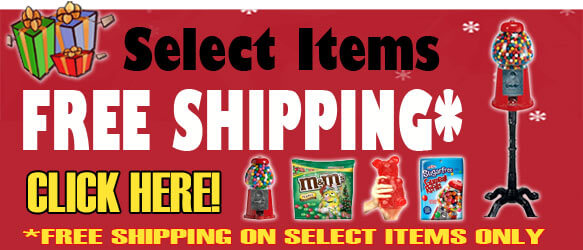 Free Shipping items from CandyMachines.com!