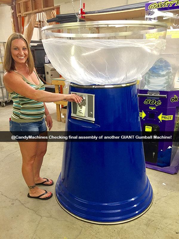 Big Mama Giant Gumball Machine