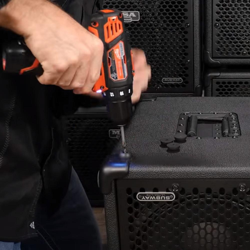 Foot - Small, Rubber - Bass 400+ & for Subway Ultra-Lite Cab Vertical when set Vertical