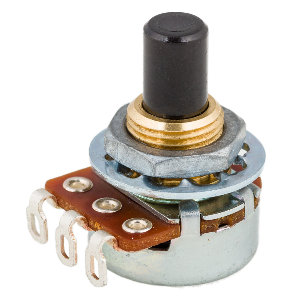 Pot 590150 - 16mm 100K .594 Shaft Audio Taper