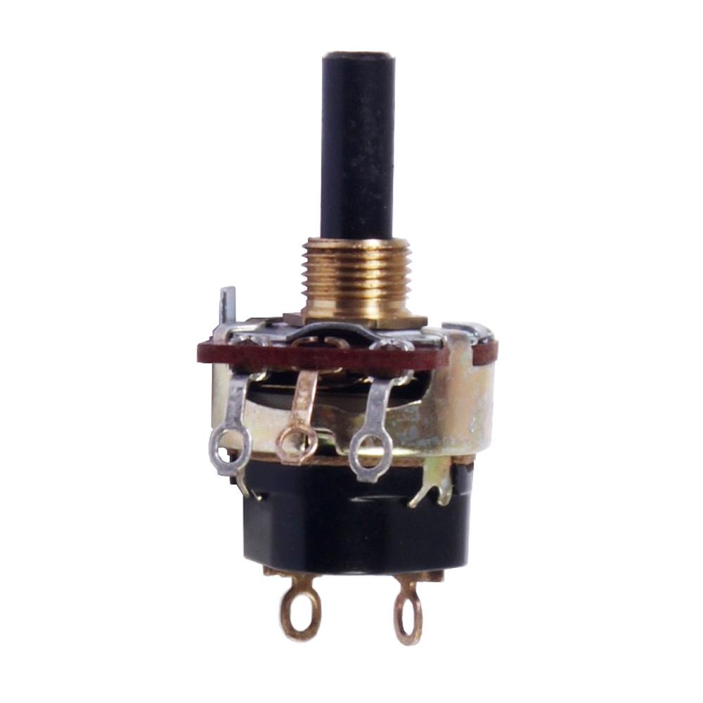 Pot 590750 - 16mm 250K .594 30% Taper Audio Pull-Switch
