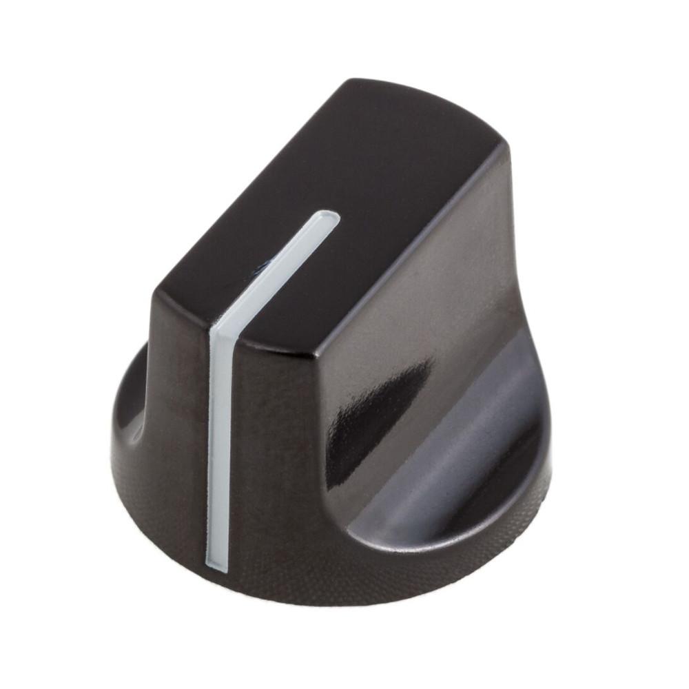 Knob - 408640 - Black Vintage Phenolic