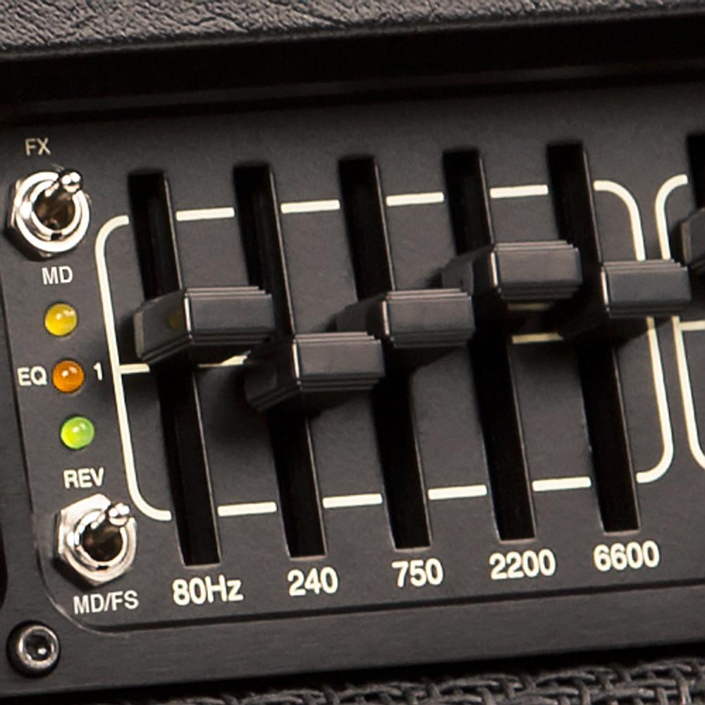 Knob - 408580 - Slider Mini Gloss Black EQ