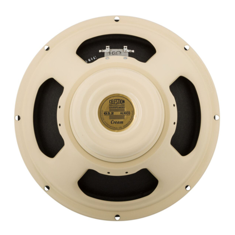 Celestion Cream 90W 12 Inch 16 Ohm Speaker - Rear - Part # 767426