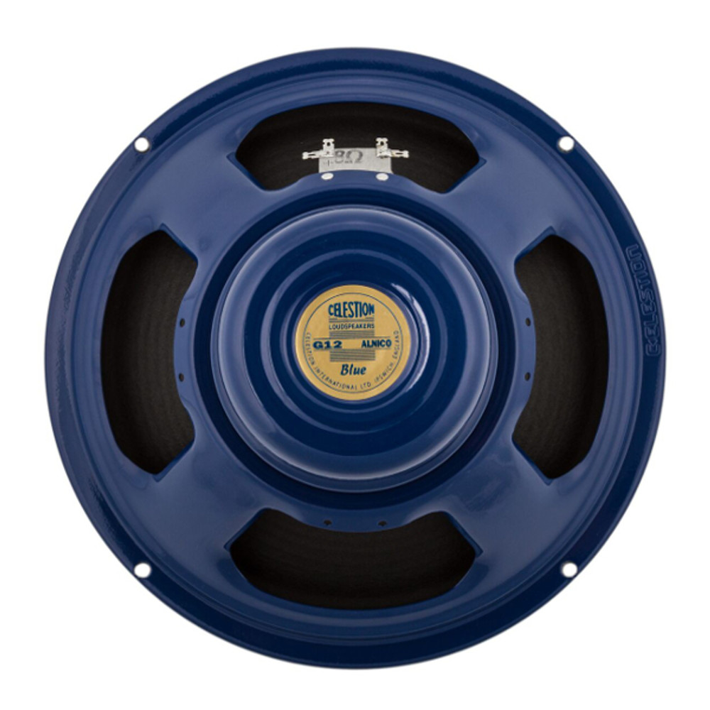 Celestion Blue 15W 12 Inch 8 Ohm Speaker - Rear - Part # 767421