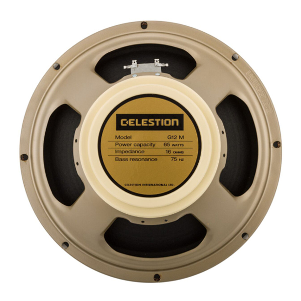 Celestion Creamback G12M 65W 12 Inch 16 Ohm Speaker - Rear - Part # 767428
