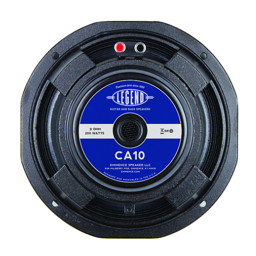 "Speaker - 10"" Eminence Legend CA10-8 - 200 Watt - 8 ohm"
