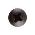 "Screw - #10-24 x 3-5/8"", Phillips Oval Head, Black Oxide"