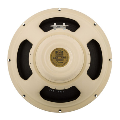 Celestion Cream 90W 12 Inch 8 Ohm Speaker - Rear - Part # 767425