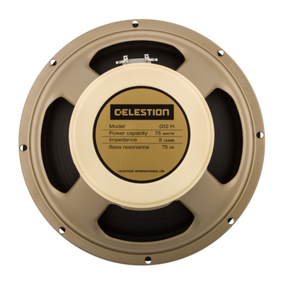 Celestion Creamback G12H 75W 12 Inch 8 Ohm Speaker - Rear - Part # 767429