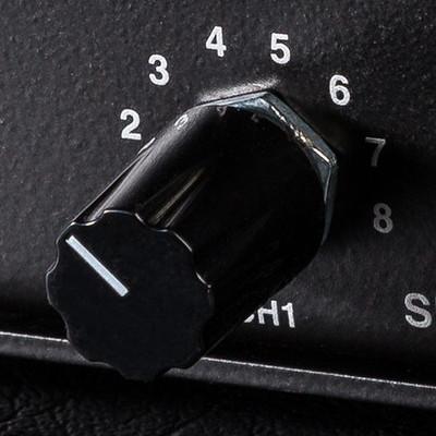 Knob - 409127 - Symmetric Black